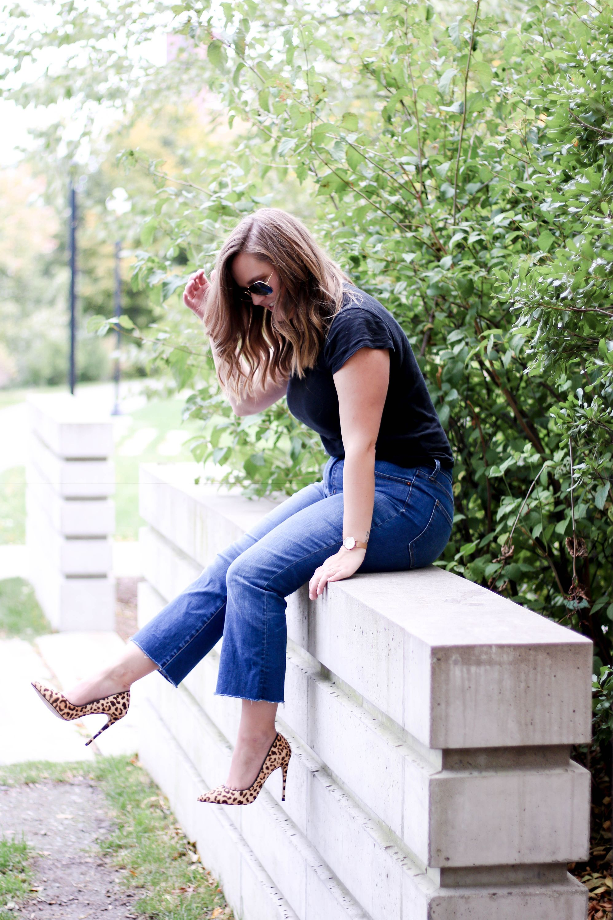 styling cali demi flare jeans